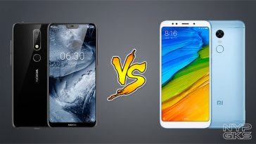 Nokia X6 vs Xiaomi Redmi Note 5 Specs Comparison — NoypiGeeks