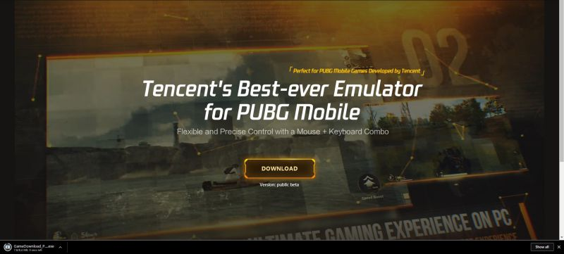 PUBG-Mobile-Emulator-Download