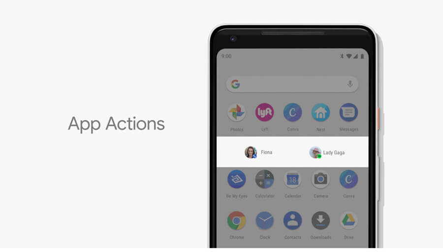 Android P — App Actions