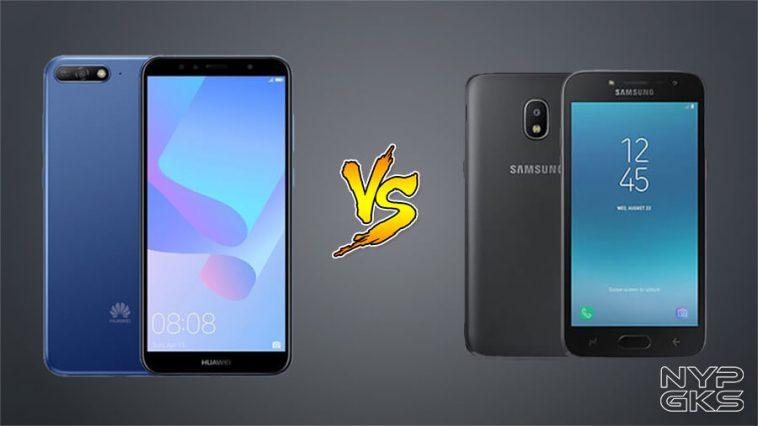 Samsung Galaxy J2 Pro vs Huawei Y6 2018: Specs Comparison