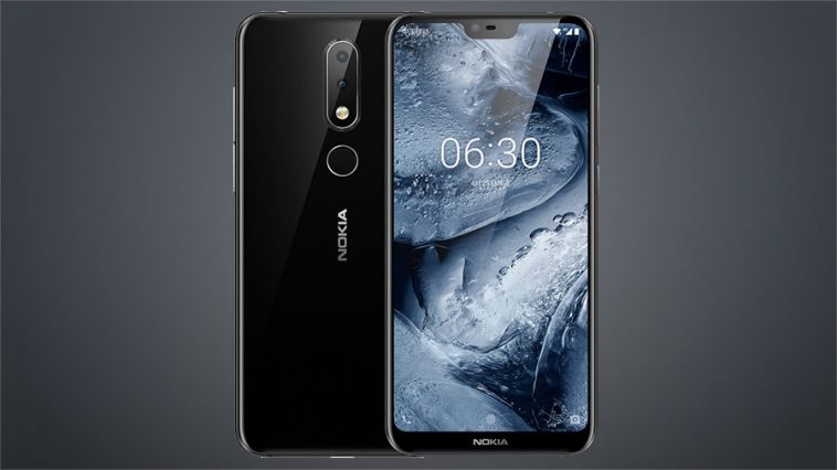 67c187673 Nokia X6 with screen notch and dual cameras unveiled