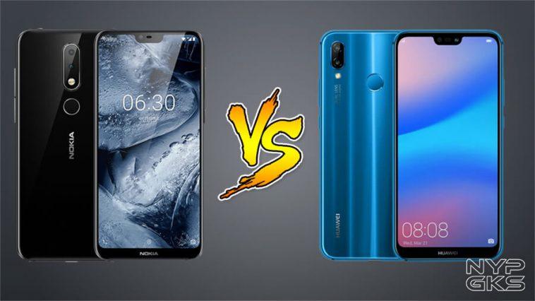 Nokia-X6-vs-Huawei-P20-Lite-Specs-Comparison