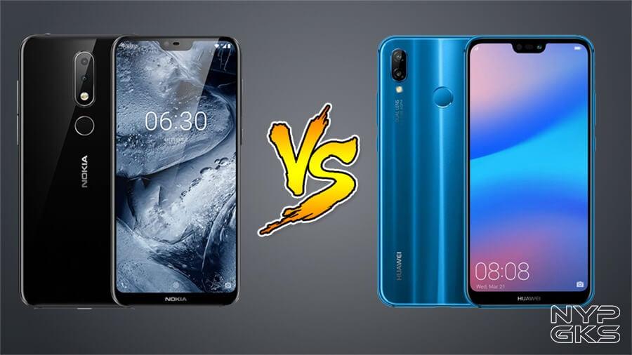 nokia x6 vs iphone x