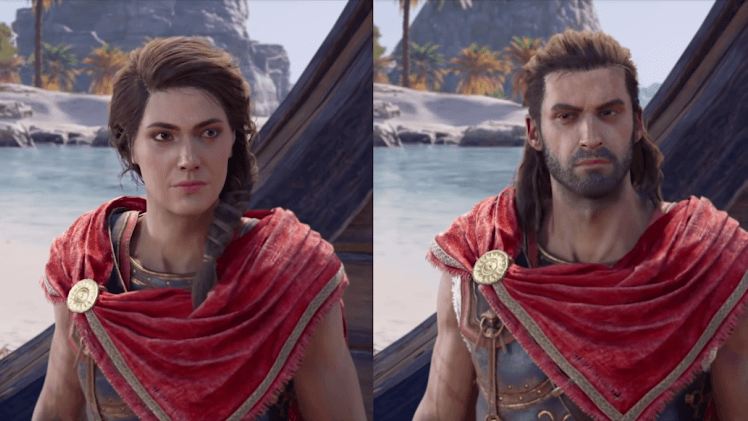 Kassandra and Alexius - Assassin's Creed Odyssey