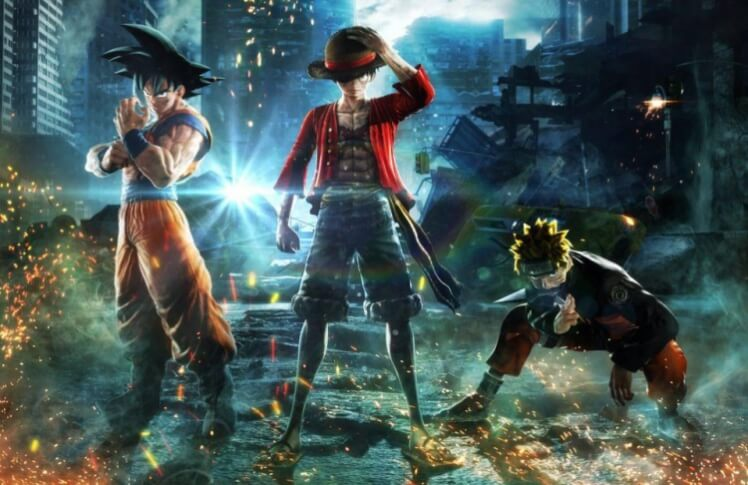 jump force is a fighting game mashup featuring dragon ball