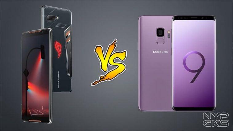 Asus rog phone vs samsung s9 plus