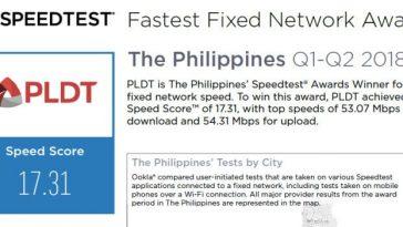 PLDT-Ookla-Speed-Test-Award-2018