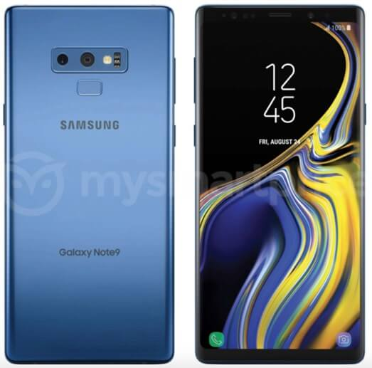 Samsung-Galaxy-Note-9-render-leaked