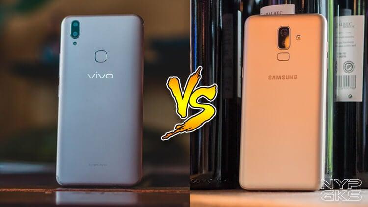 Vivo V9 vs Samsung Galaxy J8 Specs Comparison