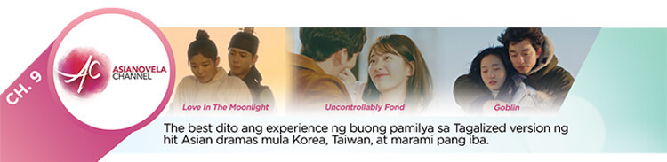 ABS-CBN TVPlus Asianovela channel