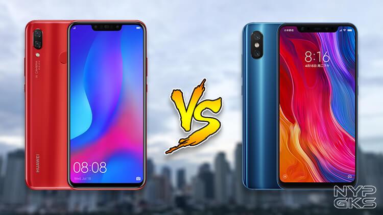 Huawei-Nova-3-vs-Xiaomi-Mi-8-Specs-Comparison-NoypiGeeks