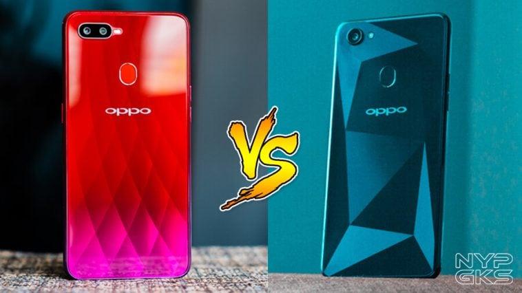 OPPO F9 vs OPPO F7: Specs Comparison | NoypiGeeks