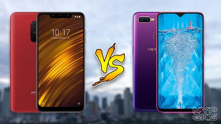 OPPO-F9-vs-Xiaomi-Pocophone-F1-Specs-Comparison