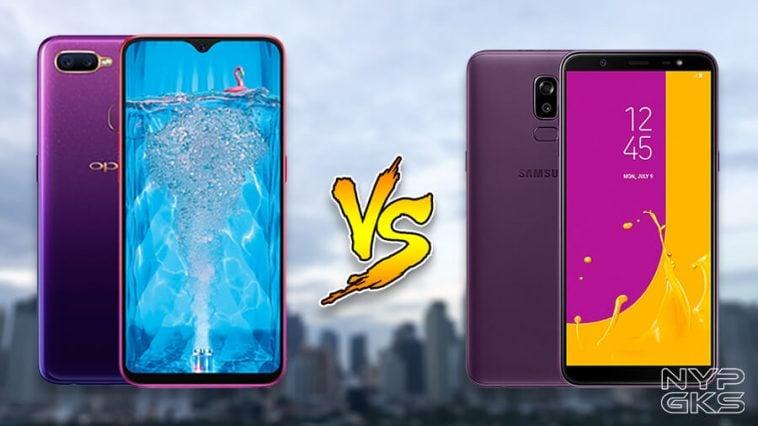 OPPO-F9-vs-Samsung-Galaxy-J8-Specs-Comparison