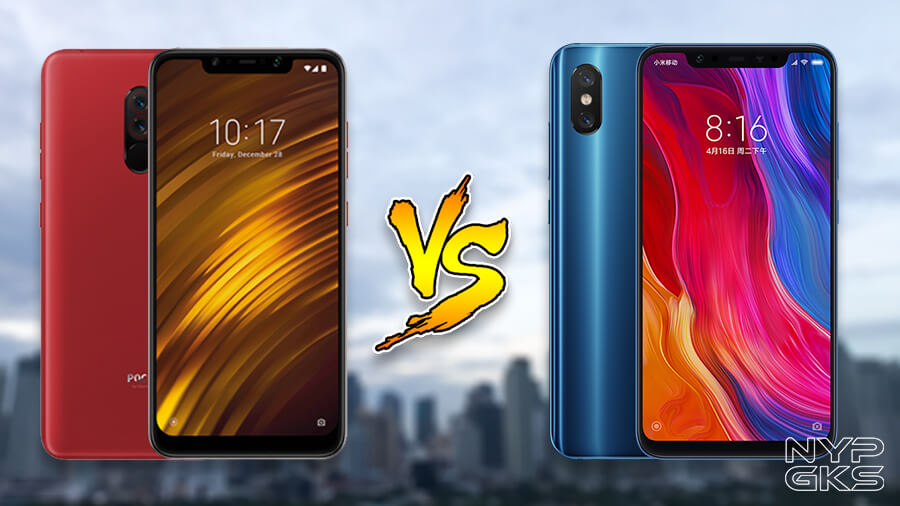 Poco-F1-vs-Xiaomi-Mi-8-Specs-Comparison-NoypiGeeks