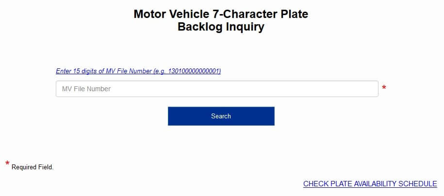 Check-license-plate-LTO-online