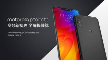 Motorola-P30-Note-Specs-Price