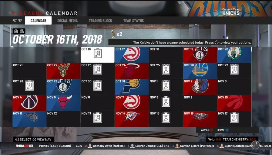 NBA 2K19 Season - NoypiGeeks
