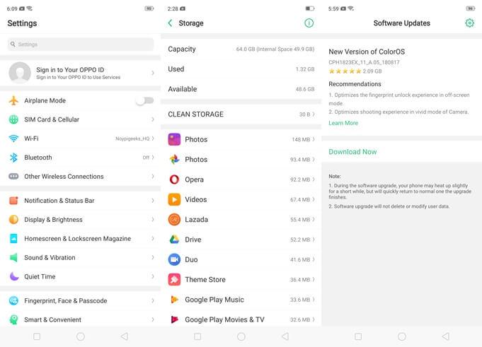 OPPO-F9-Software-Update