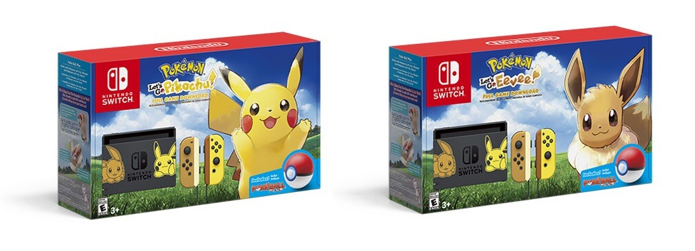 Pokemon Let's Go Pikachu & Eevee Bundle Boxart
