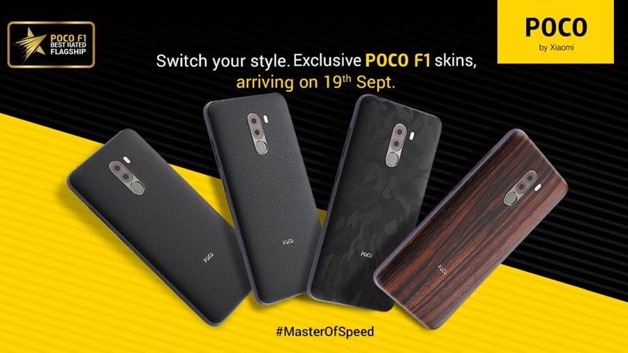Xiaomi Pocophone F1 Custom Skins Now Available Noypigeeks
