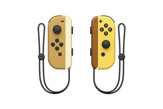 Pikachu and Eevee Pokémon: Let's Go Switch Joy-cons