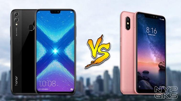 Honor-8X-vs-Xiaomi-Redmi-Note-6-Pro-Specs-Comparison