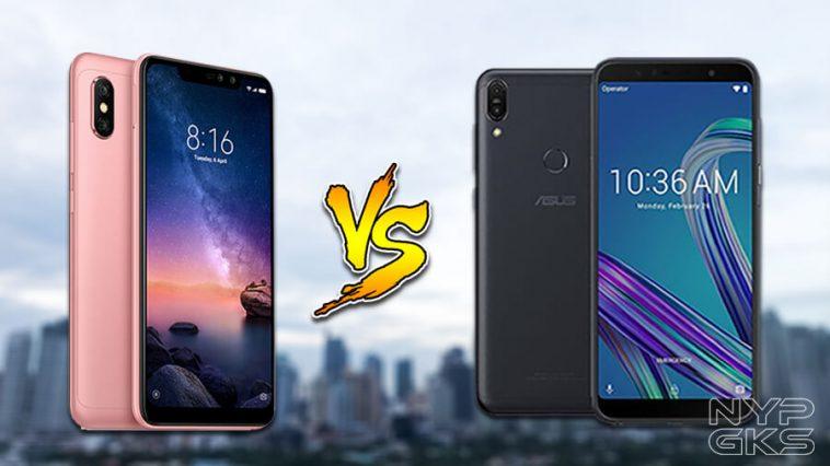 Xiaomi Redmi Note 6 Pro vs ASUS Zenfone Max Pro M1: Specs Comparison