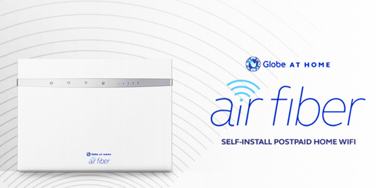 Globe at Home Air Fiber postpaid plan announced NoypiGeeks