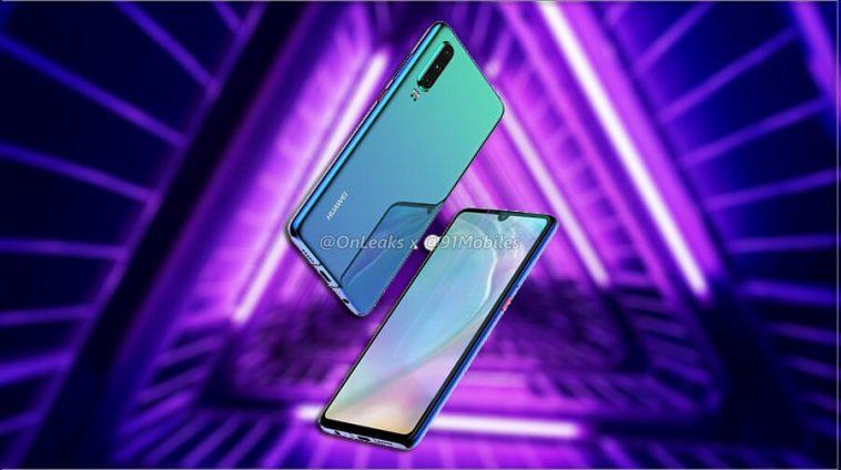 Huawei-P30-leaked-renders
