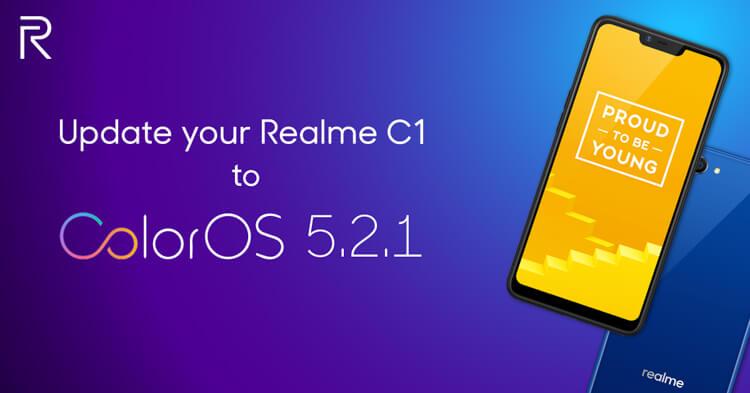 Realme-C1-ColorOS-update