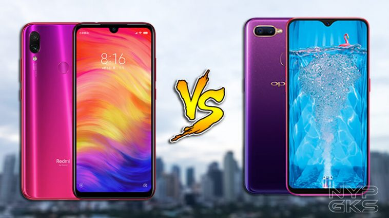OPPO F9 vs Xiaomi Redmi Note 7: Specs Comparison | NoypiGeeks