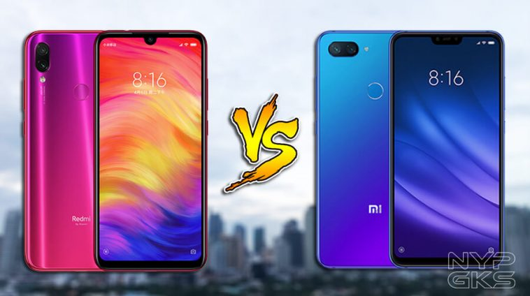 Xiaomi Redmi Note 7 против Xiaomi Mi 8 Lite: сравнение характеристик