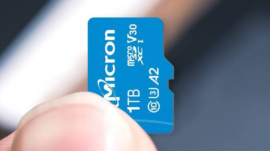 sandisk and micron 1tb microsd cards revealed noypigeeks. Black Bedroom Furniture Sets. Home Design Ideas