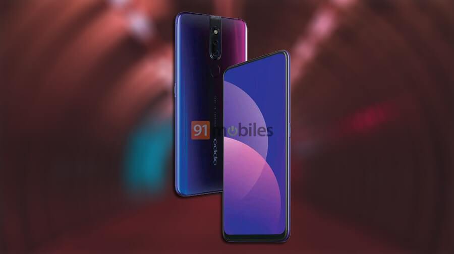 Oppo F11 Pro Wallpapers: OPPO F11 Pro Renders Reveal Camera Setup And Full-screen