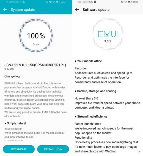 Honor-8X-Android-9-Pie-EMUI-9-update