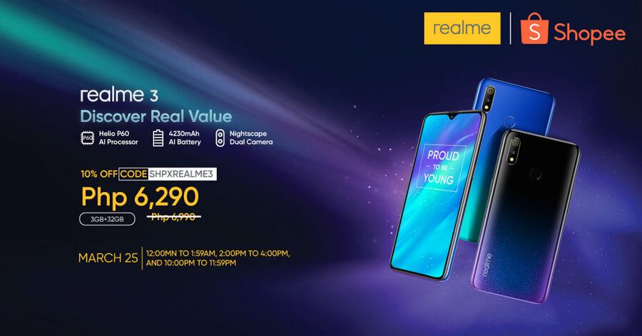 Realme-3-Shopee-sale-philippines