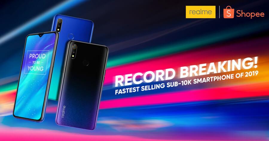 Realme-3-sales-record-philippines