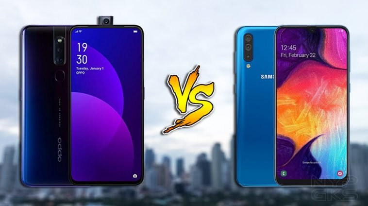 OPPO-F11-Pro-vs-Samsung-Galaxy-A50-specs-comparison