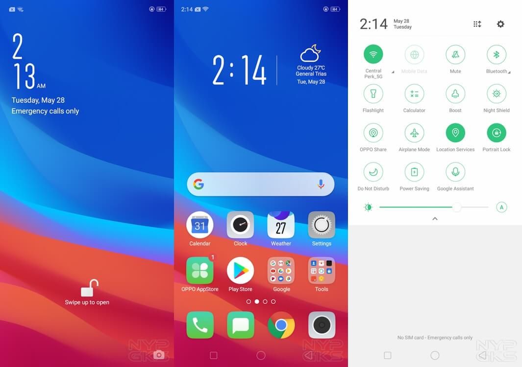 OPPO-A5s-user-interface
