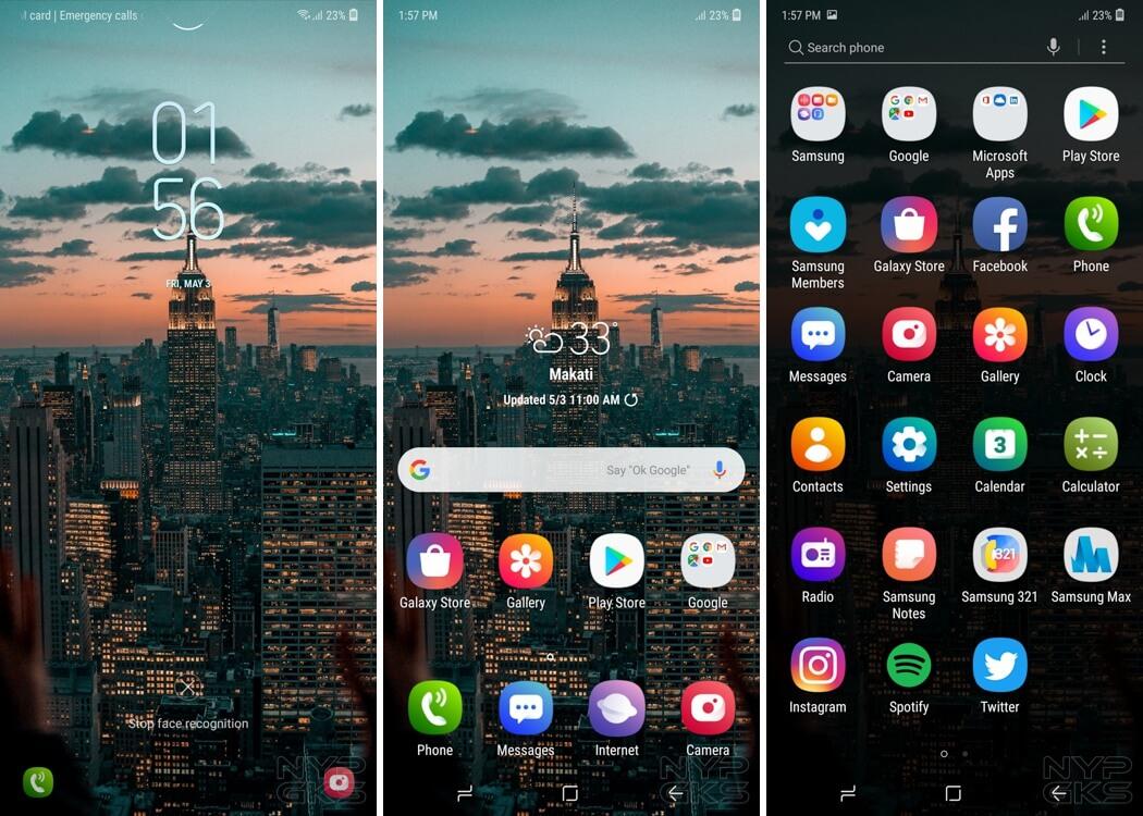 Samsung-Galaxy-M20-interface