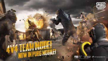 PUBG-Mobile-Deathmatch-Godzilla-update