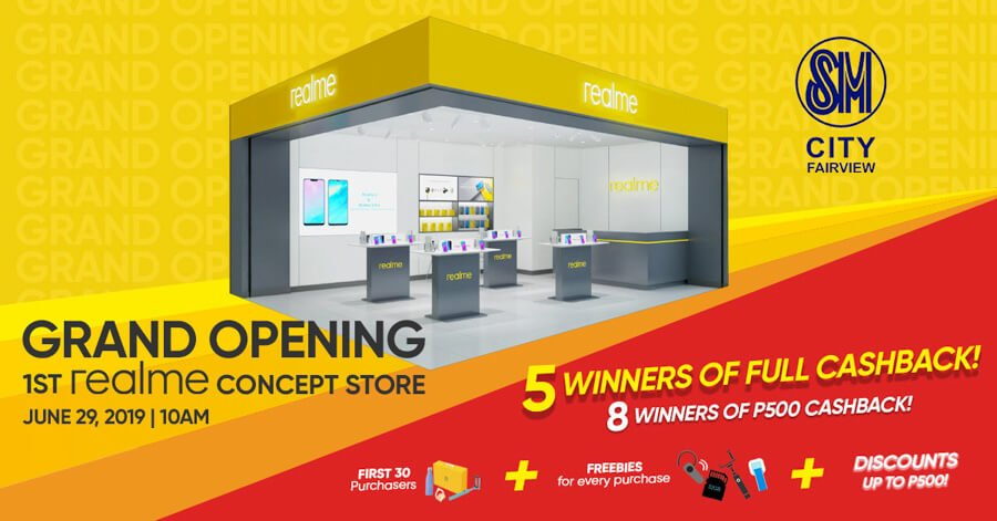 Realme-concept-store-SM-Fairview