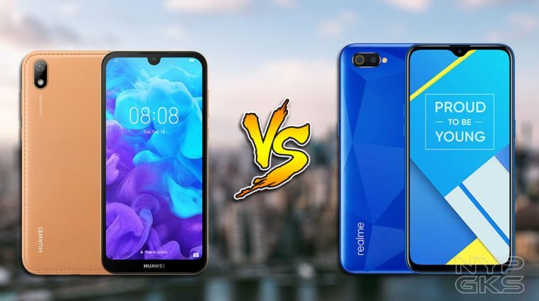 huawei-y5-2019-vs-realme-c2-specs-comparison