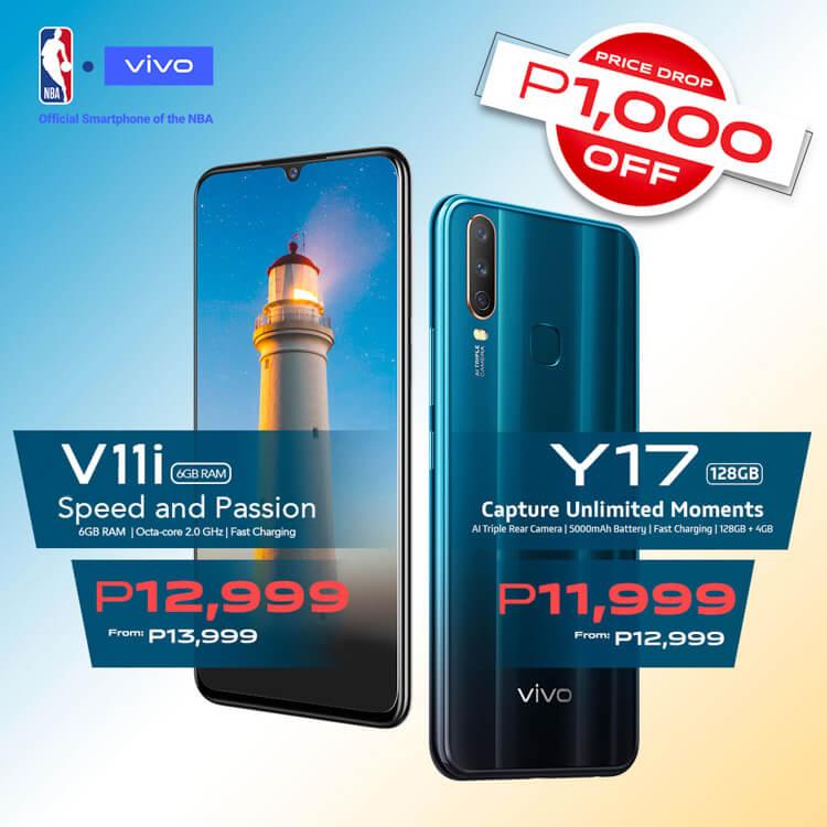 Vivo-V11i-Y17-price-drop-philippines