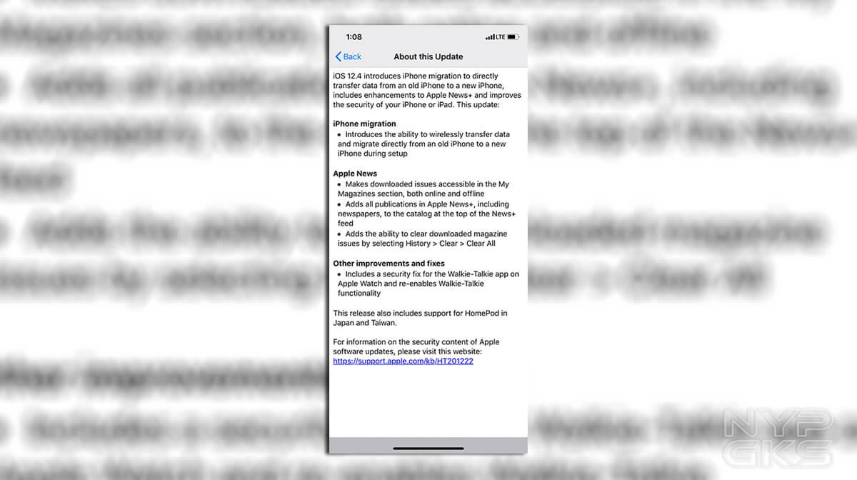 iOS-12-4-update