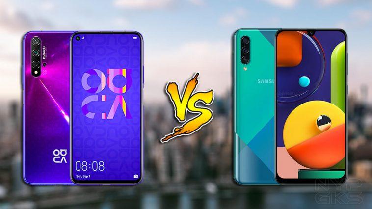 Huawei-Nova-5t-vs-samsung-galaxy-a50s-specs-comparison