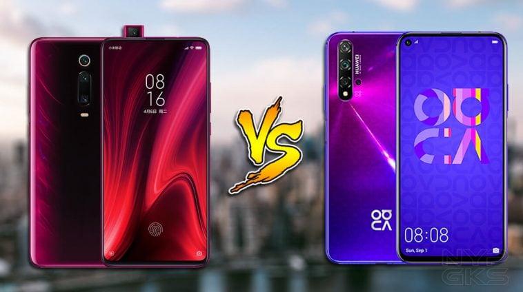 Xiaomi Mi 9t Pro Vs Huawei Nova 5t Specs Comparison
