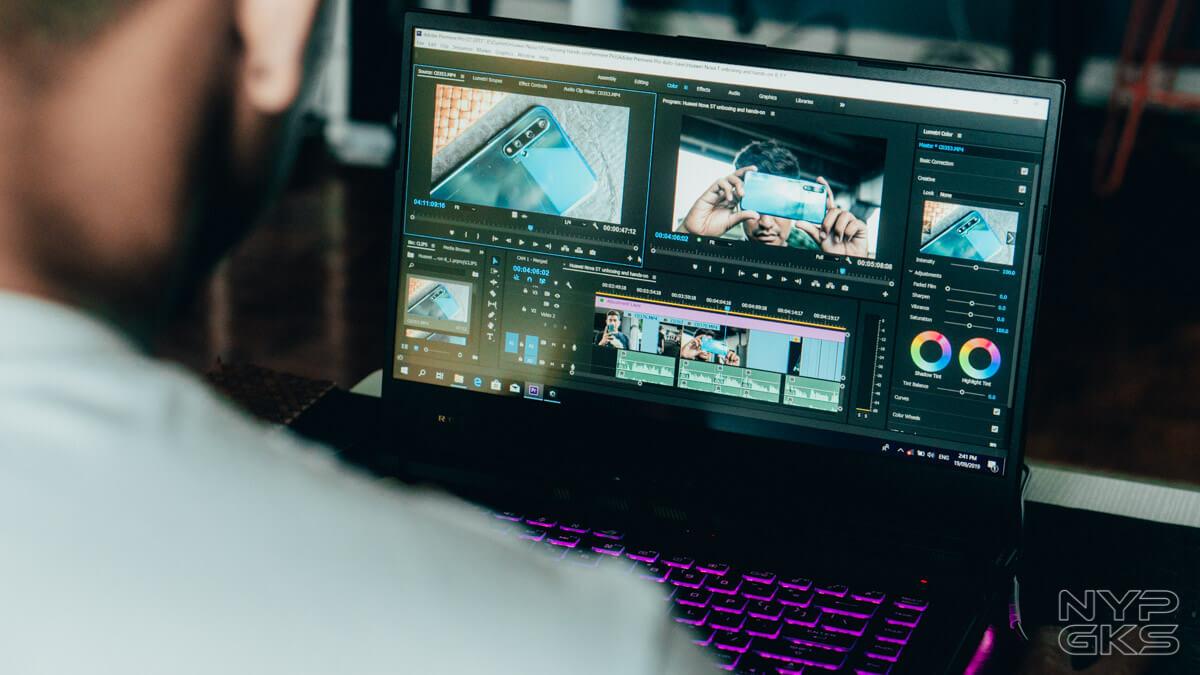 ASUS-ROG-G-G531-Review-Video-editing