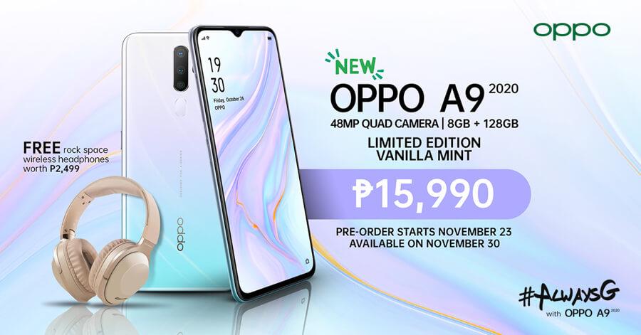 OPPO-A9-2020-Vanilla-Mint-NoypiGeeks